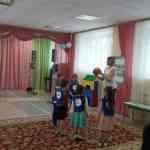 Фрагмент занятия с использованием учебного оборудования «Зарница»