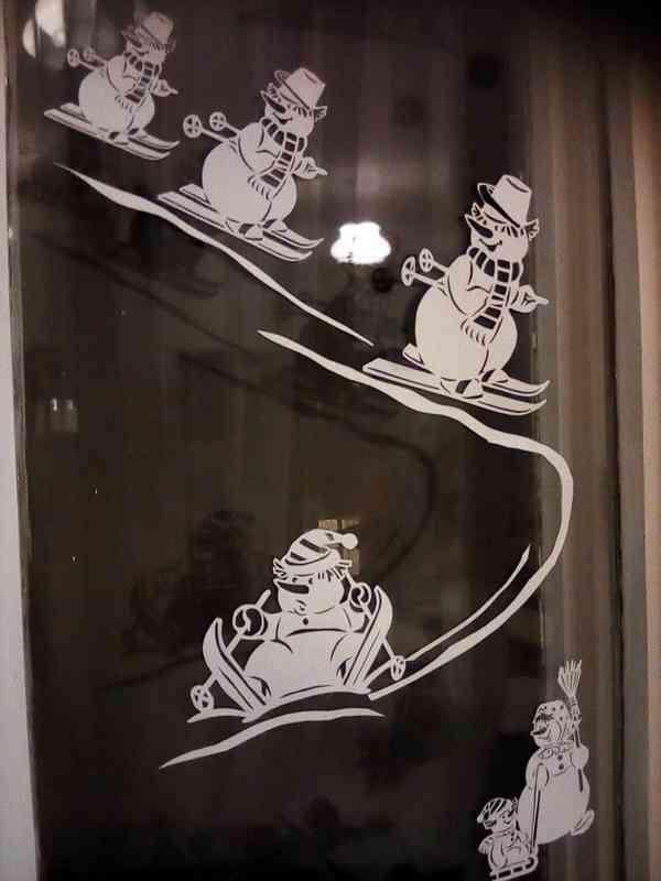 Украшения на окнах